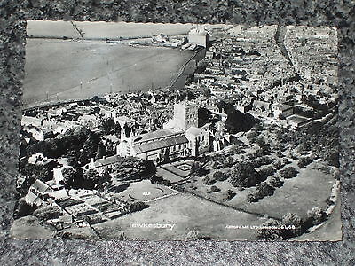 Tewkesbury Aerial View   Photo Postcard Vintage Rp Unposted  Vgc