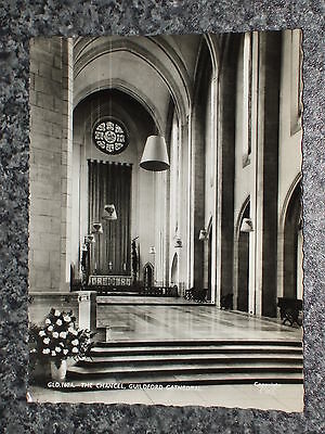The Chancel Guildford Cathedral    Photo  Postcard Vintage Rp Unposted   Vgc