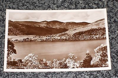 Loch Tay & The Glen  Lyon  Mountains   Photo Postcard Vintage  Unposted  Vgc