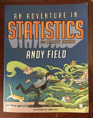 AN ADVENTURE IN STATISTICS von Andy Field (Sage, 2016, Softcover, englisch)