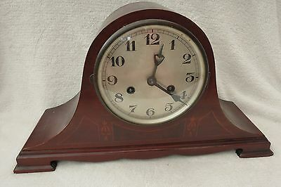 Vintage Inlaid German Hb Striking Clock For Restoration