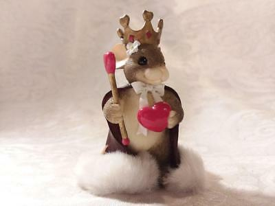 Charming Tails, Queen of My Heart Figurine, NO box.