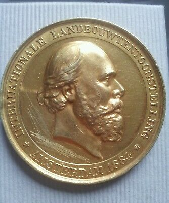 Médaille Internationale Landbouwtentoonstelling 1884 Amsterdam Collection medal