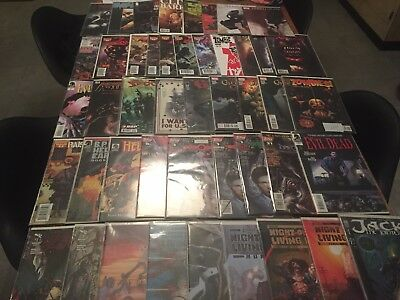 65 issue comic book lot EVIL DEAD NIGHT OF THE LIVING DEAD zombie comics HORROR