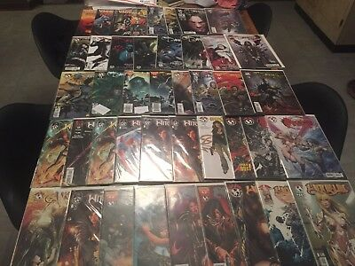 65 issue comic book lot DARKNESS WITCHBLADE VAMPIRELLA SPAWN image!