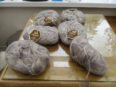 QUALITY Georges Picaud No 1 Country Chine 5 x 40 gram balls + 1 38 g Mohair