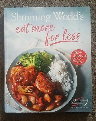 slimming world eat more for less book. Cook book. Recipe Book. Great condition