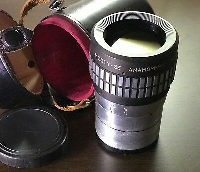 ++RARE ++ Mosty ME 2x anamorphic adapter, Clamp and lens ++ Excellent