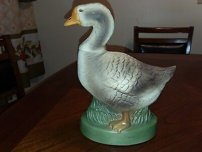 Ezra Brooks Kentucky Bourbon Duck Decanter