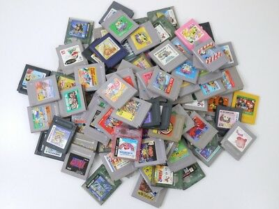 Junk WHOLESALE GAME BOY random Lot 100 Nintendo Cartridge Gameboy GB set