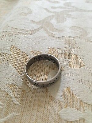 Old Think Celtic Ring metal detecting Find
