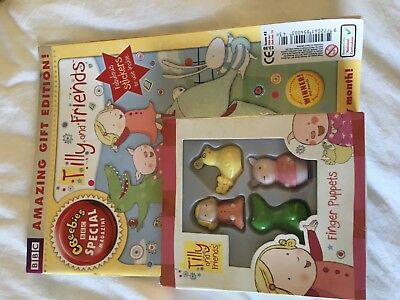 NEW CBeebies Special Magazine Tilly & Friends issue 43 30 01/13 Gift edition