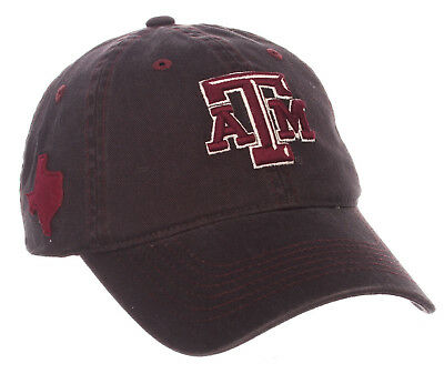 separation shoes e324a e30ed Texas A M Aggies Ncaa Adjustable Strapback Stateside Dad Cap Hat Nwt! Zephyr