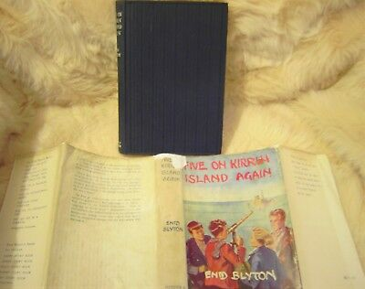 Five On Kirrin Island Again Enid Blyton 1St Edition Hb Dw 1947