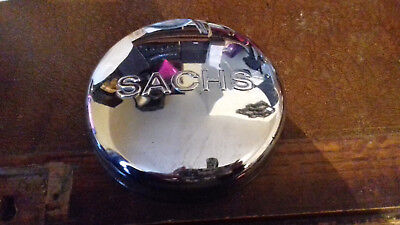 Rare Sachs Chrome Points Cover Moped? (Classic Bike/vintage/chop/cafe/bobber)