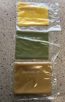 Reebok Toning Band Kit Resistance Bands Workout