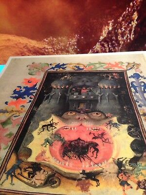 The Mouth of Hell Book of Hours.Illuminated Manuscript  GIFT COLLECTION New