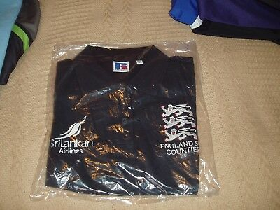 B/n/i/p England 50+ Counties Cricket Shirt Mint In A Size Small Adults.