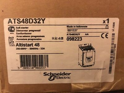 Schneider Electric Altistart 48 - Ats48D32Y - New!