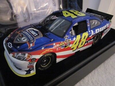 1/24 RCCA ELITE COLOR CHROME Jimmie Johnson #48 Lowe's SUMMER SALUTE 2011 Impala
