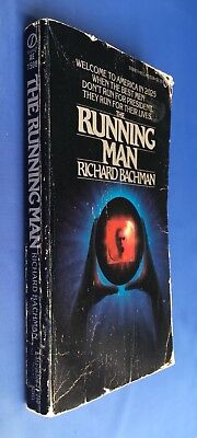 THE RUNNING MAN - Richard Bachman - US 1st Edition Signet NAL - Stephen King