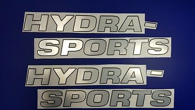"Hydra-sports boat Emblem 44"" black chrome + FREE FAST delivery DHL express"