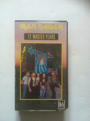 Iron Maiden - VHS Cassette 12 Wasted Years