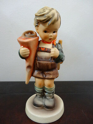 "GOEBEL HUMMEL FIGURINE TMK- 3  HUM -#80 ""LITTLE SCHOLAR "".  5 3/4 inches tall"