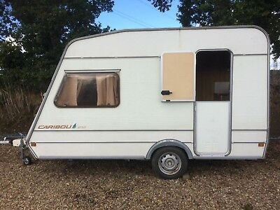 Bailey small 2 berth caravan under 750kgs lightweight retro classic