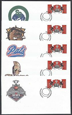 2018 Memorial Cup Hockey 100th Presentation Limited FDCs