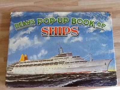 Vintage Dean's Pop-Up Book of Ships 1962