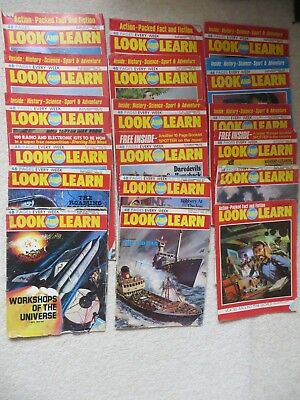 18 Look and Learn Magazines from 1973