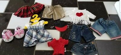 New & Used Build A Bear Workshop Clothes Lot Fast Shipping