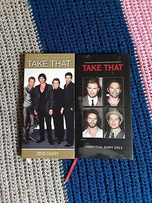 2 Take That Diaries from 2010 and 2013