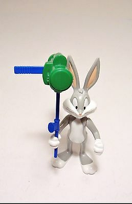 1993 Bugs Bunny with Carrot Missile Launcher Action Figure Looney Tunes Tyco