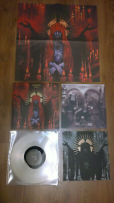 Urfaust - Apparitions LP (MINT) Limited/Special Ed. Clear With Black Swirl