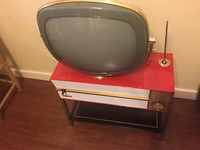 """PREDICTA-RESTORED-Philco Princess 17"""" Model Looks and Plays Great-NOS CRT & More"""
