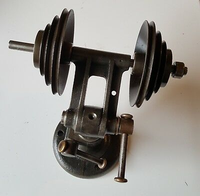 Boley Watchmakers Lathe Adjustable Counter Shaft Transmission Pulley