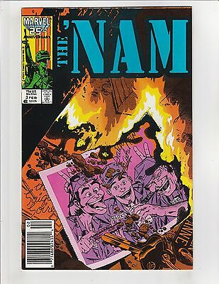 The 'Nam #3 VF/NM 9.0 Newsstand Variant Marvel Comics Vietnam