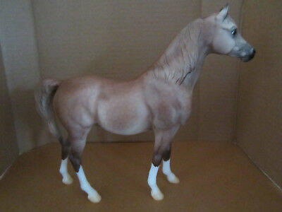 "Breyer Traditional Horse ""Sierra Rose"" Breyerfest Rose Grey Proud Arabian Mare"