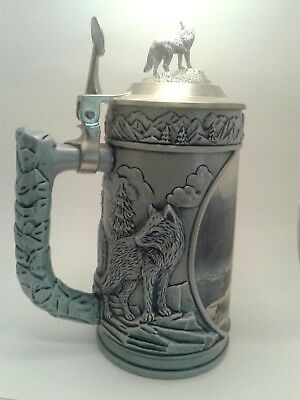"WOLF STEIN  ""SCOUTING THE BLUFFS"" 9"" Longton Crown"
