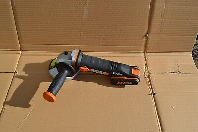 Worx WX800.9 20V 115mm Cordless Angle grinder(body  and battery)