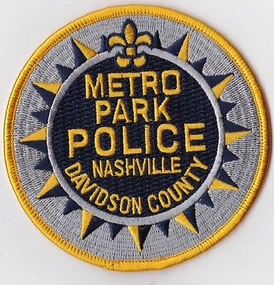 Davidson County Nashville  Police TN Tennessee Police patch
