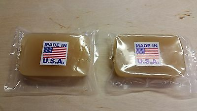 Beeswax..Leather Tooling... Working... Crafting...  Made in U.S.A.( Twin Pack )