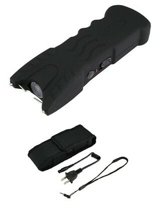 Stun Gun VIPERTEK BLACK VTS-979 - 24 BV Rechargeable LED + Case
