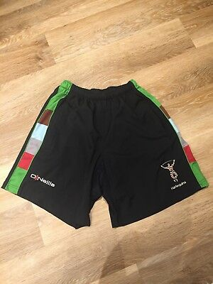 Harlequins Rugby Shorts. Size Medium
