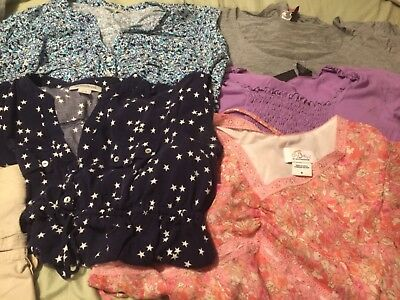 summer maternity clothes lot size small