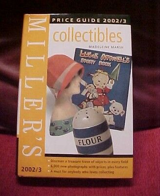 MILLER'S PRICE GUIDE 2002/2003 COLLECTIBLES over 6,000 new phoyos