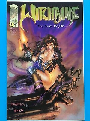 Witchblade #1 FN Image 1995 First Issue Michael Turner Art!