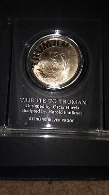 1973 Harry Truman Sterling Silver 25th Israel Anniversary founding Medal